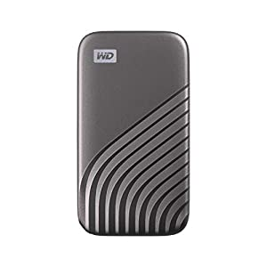 WD 2TB My Passport Portable SSD with NVMe Technology, USB-C, Read Speeds of up to 1050MB/s and Write Speeds of up to…