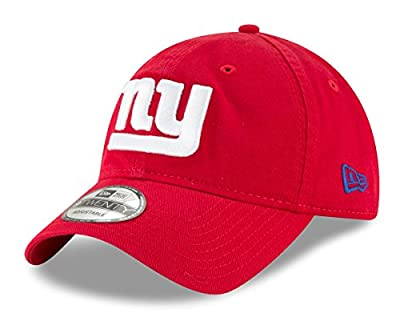 New Era New York Giants NFL 9Twenty Core Classic Secondary Adjustable Hat by New Era