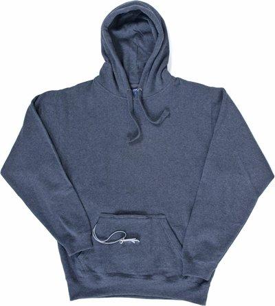 Men's Tailgate Hoodie Sweatshirt, Charcoal, X-Large (Beer Pouch Hoodie)
