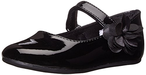 Baby Deer Girls' Patent Skimmer Mary Jane-K, Black, 10 M US Toddler