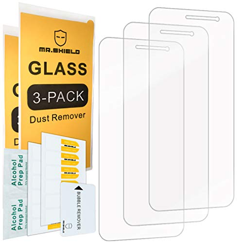 Mr.Shield for Samsung Galaxy J2 Core [Tempered Glass] [3-Pack] Screen Protector [Japan Glass with 9H Hardness] with Lifetime Replacement