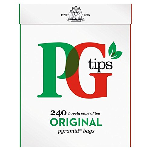 PG tips Pyramid Teabags 240 per pack - Pack of 6 by PG Tips