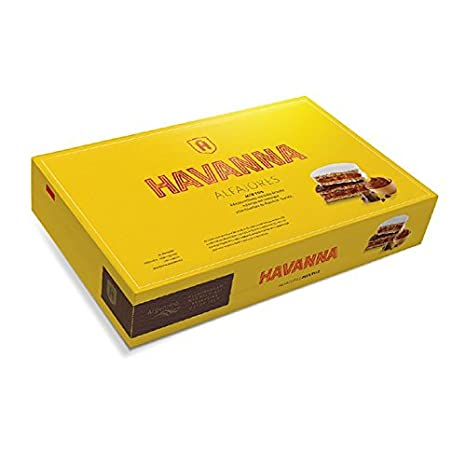 Alfajores mixtos (paquete de 6 alfajores) 306gr. Havanna (Pack de 12): Amazon.es: Alimentación y bebidas