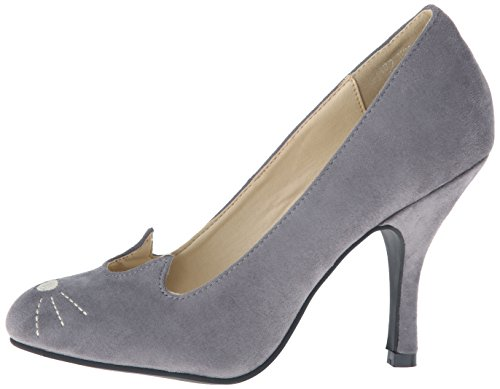 Sophistakitty Heel u Bombshell Grey Shoes k T Women's wvpATnq