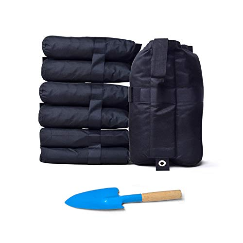 (SUPCOOKI Canopy Weight Bags for Pop up Canopy Tent, Sand Bags for Instant Outdoor Sun Shelter Canopy Legs, 4-Pack (Bags Only, Sand Not Included))
