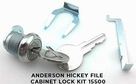 Amazon.com: Anderson Hickey File Cabinet Lock Kit 15500: Home ...
