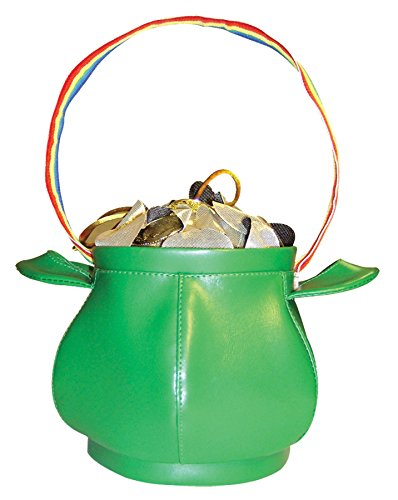 Rasta-Imposta Pot O' Gold Purse St. Patrick's Day Funny Theme Party Accessory]()