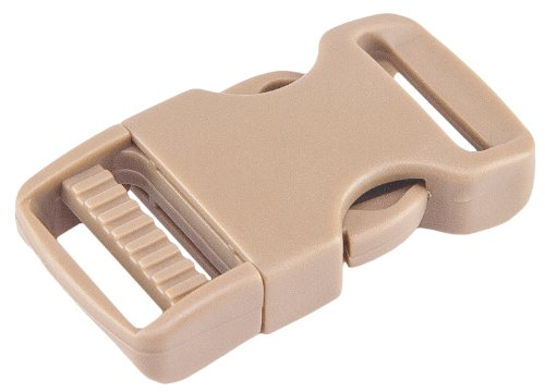 10-1-inch-coyote-tan-economy-flat-side-release-plastic-buckles