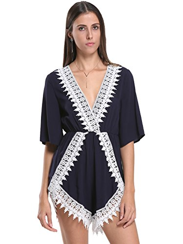 Choies Womens Embellished Casual Playsuit