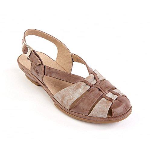 Suave - Sandalias de vestir para mujer Marrón marrón marrón