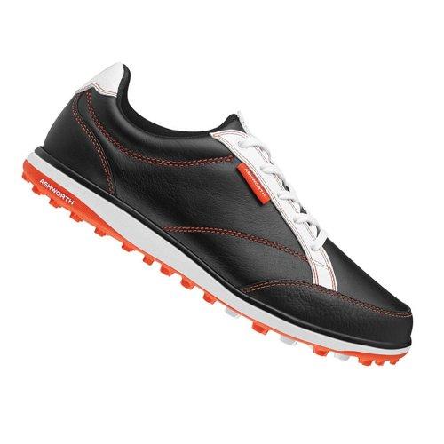 Ashworth Womens Cardiff Adc Golf Shoes, Black/Dark Orange...