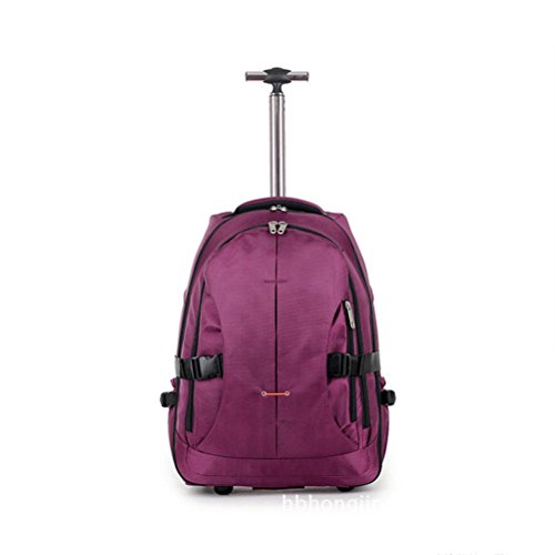 purple ruota aste cuscinetto zaino multifunzione shot bag nbsp;unidirezionale Single custodia trolley ultraleggero 2 Boarding Comfortablely impermeabile con Rg4anxCgq