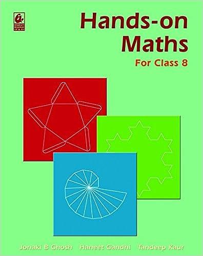 Hands-on Maths For Class 8 / E1 price comparison at Flipkart, Amazon, Crossword, Uread, Bookadda, Landmark, Homeshop18