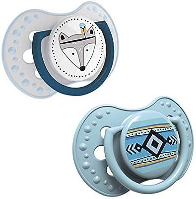 LOVI 2x Chupete Silicona para Bebés de 0-3 meses | Cubierta ...