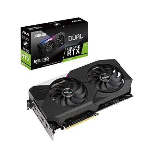ASUS Dual GeForce RTX 3070 8 GB OC Edition Gaming grafische kaart (GDDR6 geheugen, PCIe 4.0, 2x HDMI 2.1, 3x DisplayPort…