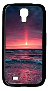 Cool Painting Pinkish sunset Polycarbonate Hard Case Cover for SamSung Galaxy S5 I9600 (picture is Galaxy S4£©