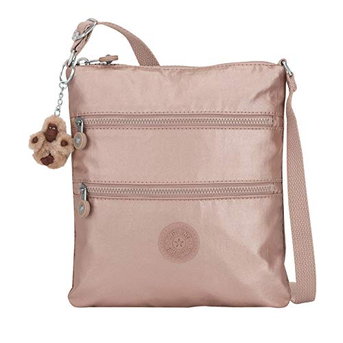 Kipling Keiko Metallic Mini Bag Rose Gold -