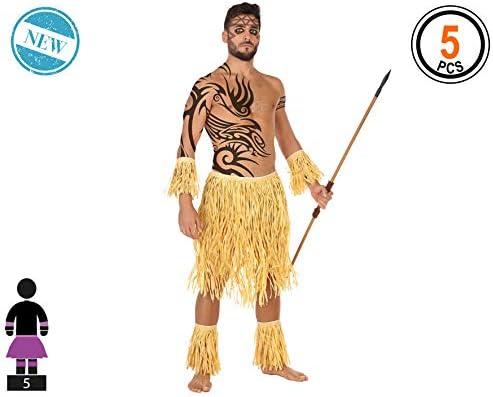 Atosa-56700 Set Hawaiano 5U, Color marrón, XXL (56700: Amazon.es ...