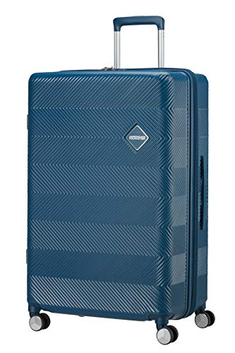 American Tourister Flylife Hand Luggage 77 centimeters 127.5 Blue (Petrol Blue)