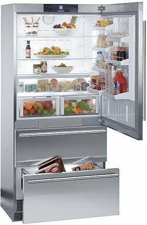 liebherr-cs2060-194-cu-ft-gray-counter-depth-bottom-freezer-refrigerator-energy-star