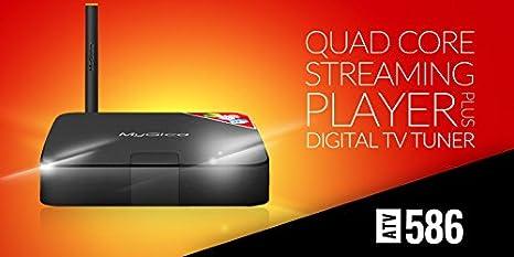 MyGica Atv586 ATSC TV Recording PVR Android TV Box with KODI (XBMC)  Streamer, Wi-Fi/Ethernet H 265 Media Player