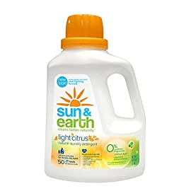 Sun & Earth Natural Laundry Detergent - front