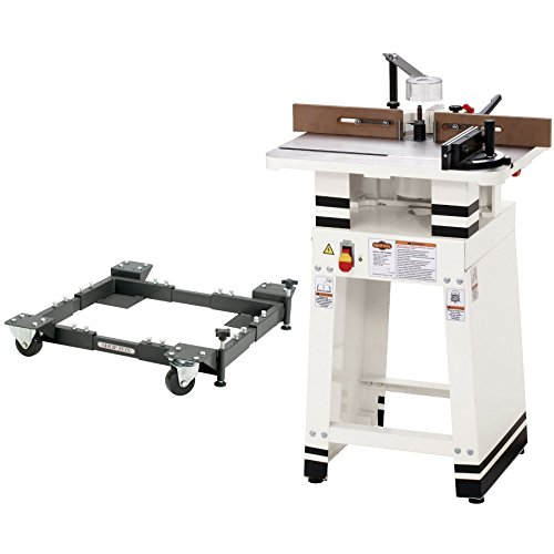 Shop Fox W1701W 110V 1 HP 24-inch x 19-inch Shaper with D2260A (Wood Shaper)