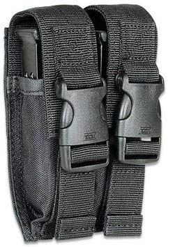 Ultimate Arms Gear Universal Dual Double Stack Pistol Magazine Pouch/Belt Holster