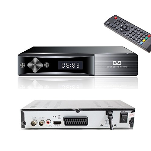 Freeview Tuner and Recorder Set Top Box / Digital TV Receiver / Digi Box for Switchover DVB-T Scart Adapter Digi-fun®