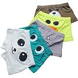 FORUSKY 5 - Pack Big Boys Soft Breathable Little Kids Underwear, Toddler Boy Boxer Briefs