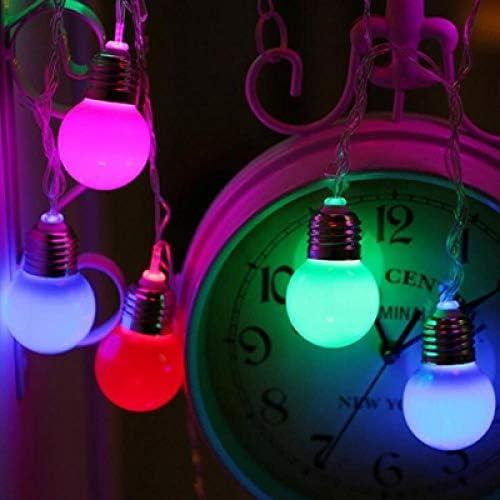 GFSDDS Weihnachtsbeleuchtung Geführte Birnenlichtweihnachtsfeehochzeitsgarten-Kranzdekoration, Veränderbar, 220V
