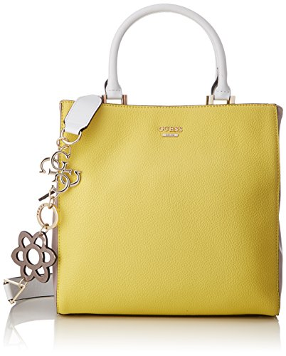 Guess Women s Bags Hobo Cross-Body Bag. Colour Name  Multicolour (Lemon  Multi Lmt) 1d0a6eef72608