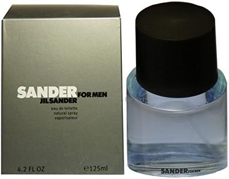 fbb1d45de Amazon.com   Sander By Jil Sander For Men. Eau De Toilette Spray 4.2 Ounces    Jil Sander Perfume   Beauty