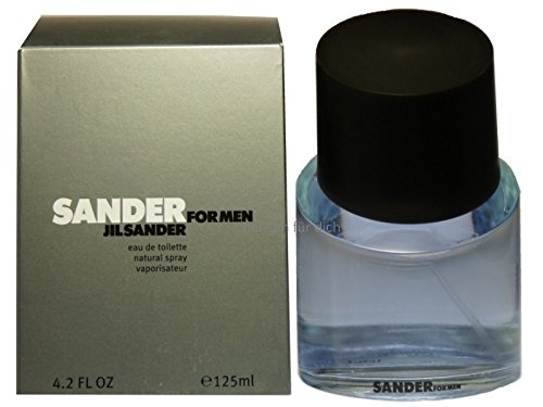 Sander By Jil Sander For Men. Eau De Toilette Spray 4.2 Ounces (Eau Toilette Sander De Mint)