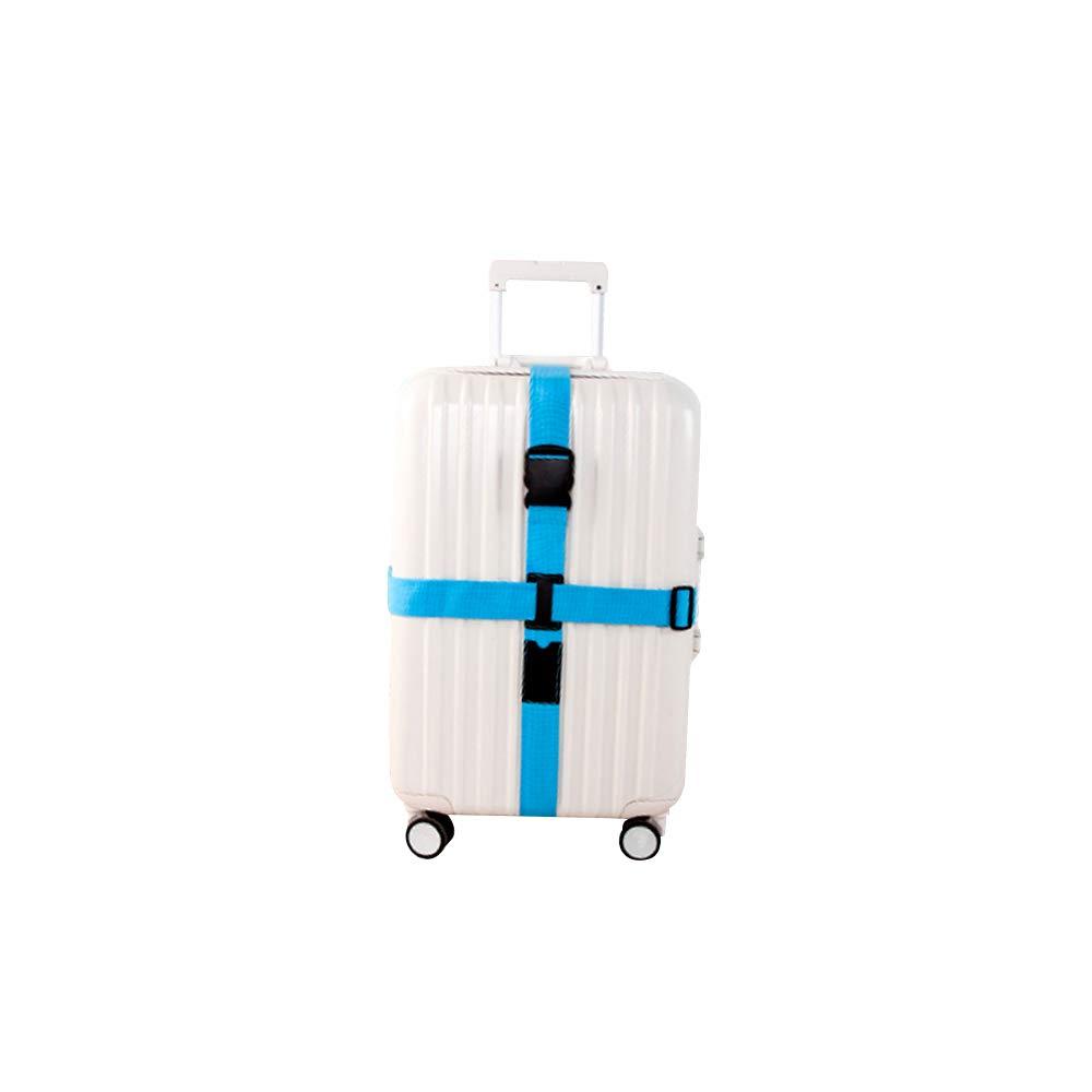 Lani/ère de s/écurit/é croisade pour Bagages Ceinture Sacs /à dos et sacs Bleu 1 pi/èce Accessoire Voyage Essential avec fermeture en plastique ABS Ultra r/ésistant