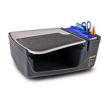 Image of AutoExec AUE12002 Grey Without Inverter Efficiency GripMaster Car Desk Bench Seat Consoles