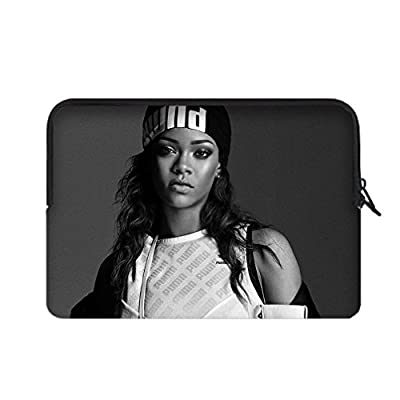 "JIUDUIDODO Neoprene Rihanna Portable Macbook Air Bag Sleeve for Macbook Air 12"" (Twin Sides)"