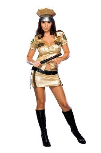Reno 911 Costume Female (Reno 911 Female Deputy Costume (Medium) by Halloween FX)