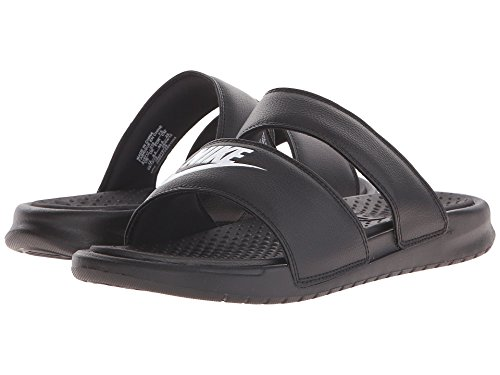 (ナイキ) NIKE レディースサンダル?靴 Benassi Duo Ultra Slide Black/White 6 (23cm) B - Medium