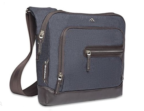 Bag Courier Bags - Brenthaven Collins Courier 13in Laptop Bag Blue