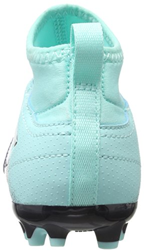 adidas Unisex-Kinder Ace 17.3 AG Fußballschuhe Blau (Energy Aqua/Footwear White/Legend Ink)