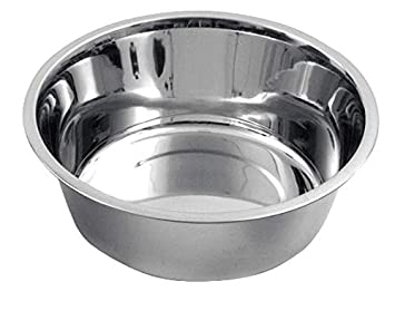 Comedero perros de acero inoxidable aprox. 2800 ml  Amazon.es  Productos  para mascotas 9ad9d2cde1e8