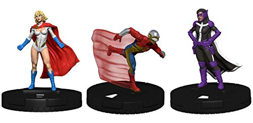 Heroclix Earth-2 World's Finest Complete Op Kit Huntress, Flash, Power Girl Limited Edition Figures w/ Cards