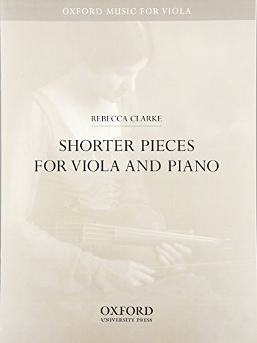 Shorter Pieces for viola and piano (Oxford Music for Viola)