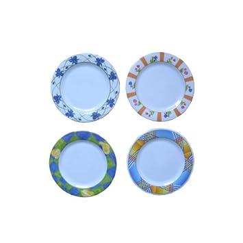 Bulk Buys Melamine dinner plate Case Of 24  sc 1 st  Amazon.com & Amazon.com: Bulk Buys Melamine dinner plate Case Of 24: Health ...
