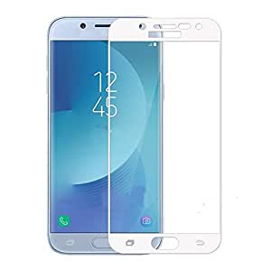Clear Tempered Glass Screen Protector with White Frame For Htc_Desire 820