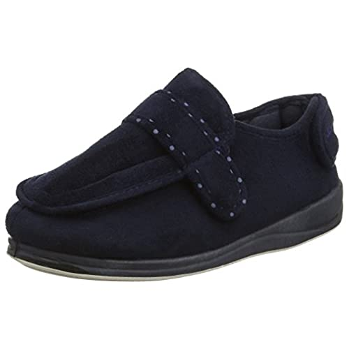 58240e5002a 50%OFF Padders Enfold - Navy Womens Slippers - appleshack.com.au