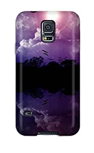 LJF phone case Rachel B Hester FvordOw6651iSvzS Protective Case For Galaxy S5(reflections)