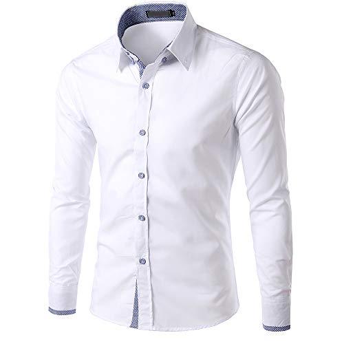 Benficial Men's Casual Slim Fit Cargo Shirt Short Sleeve Work Shirt Dress Shirt Tactical Shirt Outdoors -