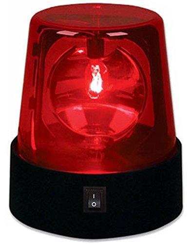 "4.5"" Rotating Red Flashing Beacon Party Lamp DJ Strobe"
